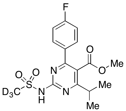 5-Methyl Formate De(3,5-dihydroxyhept-6-enoate) Rosuvastatin-d3