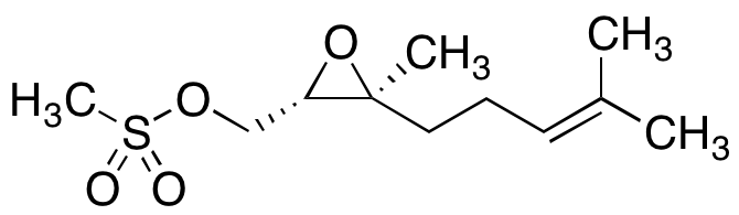 (2S-trans)-3-Methyl-3-(4-methyl-3-pentenyl)-oxiranemethanol Methanesulfonate