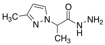 2-(3-Methyl-1H-pyrazol-1-yl)propanohydrazide