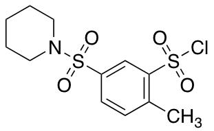 2-Methyl-5-(piperidine-1-sulfonyl)benzene-1-sulfonyl Chloride