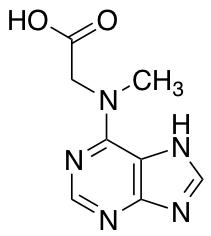 2-[Methyl(7H-purin-6-yl)amino]acetic Acid