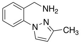 [2-(3-Methyl-1H-pyrazol-1-yl)phenyl]methanamine