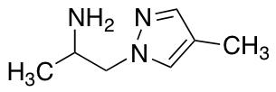 1-(4-Methyl-1H-pyrazol-1-yl)propan-2-amine
