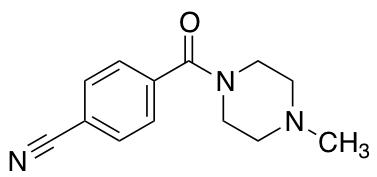 4-(4-Methylpiperazine-1-carbonyl)benzonitrile