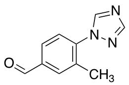 3-Methyl-4-(1H-1,2,4-triazol-1-yl)benzaldehyde