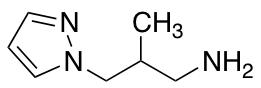 2-Methyl-3-(1H-pyrazol-1-yl)propan-1-amine