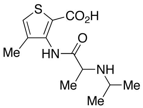 4-Methyl-3-[[1-oxo-2-(propylamino)propyl]amino]-2-thiophenecarboxylic Acid