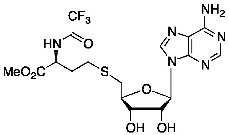 (S)-5'-S-[4-Methoxy-4-oxo-3-[(trifluoroacetyl)amino]butyl]-5'-thioadenosine