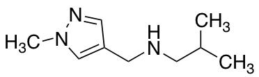 2-Methyl-N-[(1-methyl-1H-pyrazol-4-yl)methyl]propan-1-amine