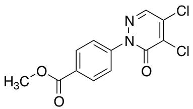 Methyl 4-(4,5-Dichloro-6-oxo-1,6-dihydropyridazin-1-yl)benzoate