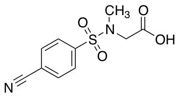 2-(N-Methyl4-cyanobenzenesulfonamido)acetic Acid