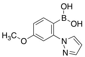 [4-methoxy-2-(1H-pyrazol-1-yl)phenyl]boronic acid