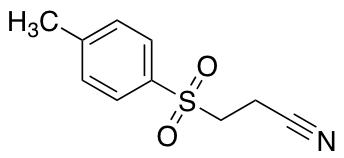 3-[(4-Methylphenyl)sulfonyl]propanenitrile