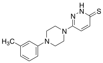 6-[4-(3-methylphenyl)piperazin-1-yl]-2,3-dihydropyridazine-3-thione