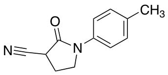 1-(4-Methylphenyl)-2-oxo-3-pyrrolidinecarbonitrile