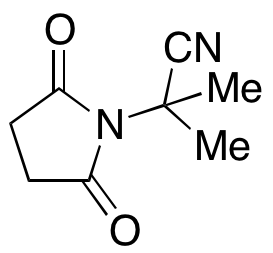 α,α-dimethyl-2,5-dioxo-1-Pyrrolidineacetonitrile