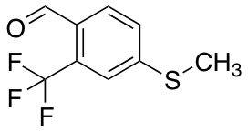 4-(Methylthio)-2-(trifluoromethyl)benzaldehyde