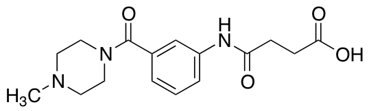 4-{3-[(4-Methyl-1-piperazinyl)carbonyl]anilino}-4-oxobutanoic Acid