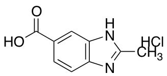 2-methyl-1H-1,3-benzodiazole-5-carboxylic Acid hydrochloride