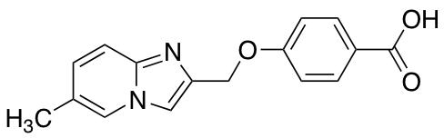 4-({6-Methylimidazo[1,2-a]pyridin-2-yl}methoxy)benzoic Acid