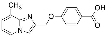 4-({8-Methylimidazo[1,2-a]pyridin-2-yl}methoxy)benzoic Acid