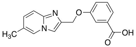 3-({6-Methylimidazo[1,2-a]pyridin-2-yl}methoxy)benzoic Acid