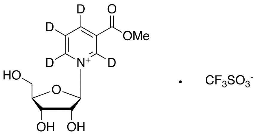 Nicotinic Acid Riboside-d4 Methyl Ester Triflate