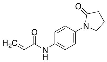 N-[4-(2-Oxopyrrolidin-1-yl)phenyl]prop-2-enamide