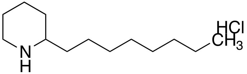 2-octylpiperidine hydrochloride