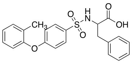 ((4-(o-tolyloxy)phenyl)sulfonyl)phenylalanine