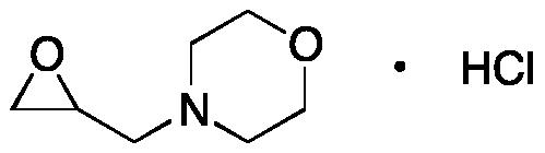 4-(Oxiranylmethyl)morpholine Hydrochloride