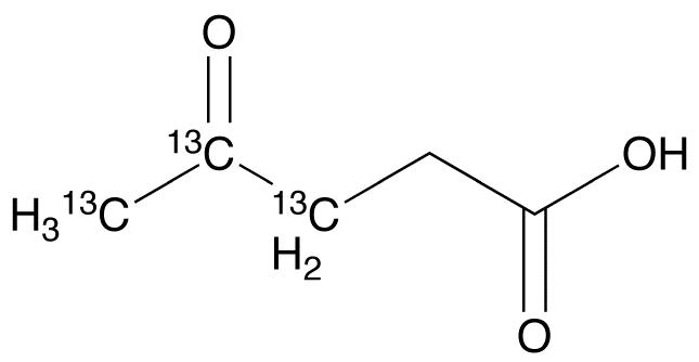 4-Oxopentanoic-13C3 Acid
