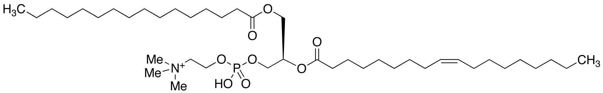 1-Palmitoyl-2-oleoyl-sn-glycerol-3-phosphocholine