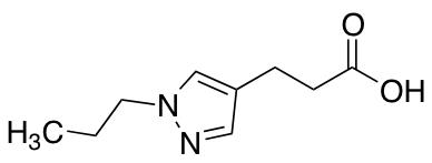 3-(1-Propyl-1h-pyrazol-4-yl)propanoic Acid