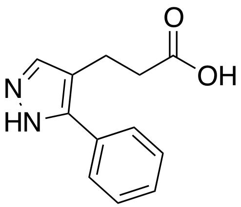 3-(3-phenyl-1h-pyrazol-4-yl)propanoic acid