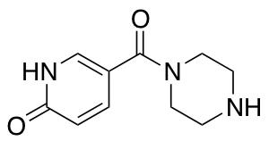 5-(Piperazine-1-carbonyl)-1,2-dihydropyridin-2-one