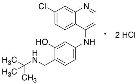 5-[(7-Chloro-4-quinolinyl)amino]-2-[[(1,1-dimethylethyl)amino]methyl]phenol Hydrochloride