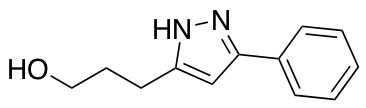 3-(3-Phenyl-1H-pyrazol-5-yl)propan-1-ol