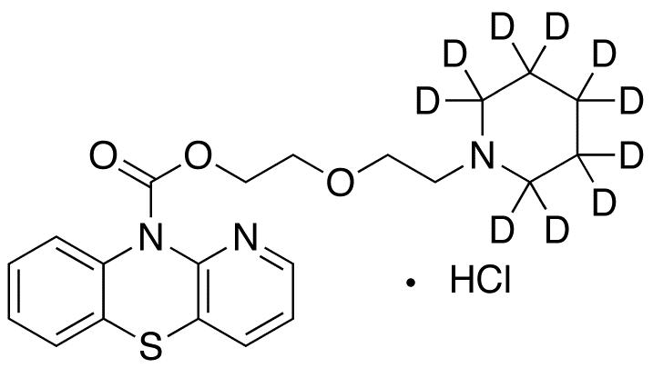 Pipazetate-d10 Hydrochloride