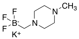 Potassium 1-Methyl-4-trifluoroboratomethylpiperazine