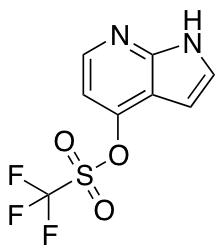 1h-Pyrrolo[2,3-B]pyridin-4-yl Trifluoromethanesulfonate