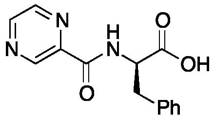 N-(2-Pyrazinylcarbonyl)-D-phenylalanine