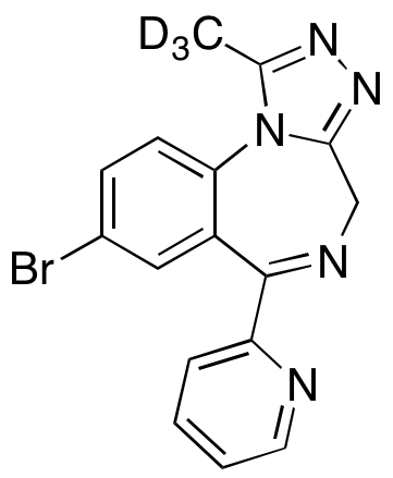 Pyrazolam-d3