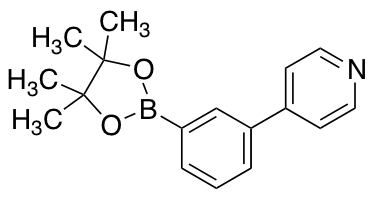 4-[3-(4,4,5,5-Tetramethyl-1,3,2-dioxaborolan-2-yl)phenyl]pyridine