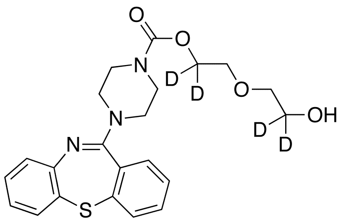 Quetiapine Carboxylate-d4