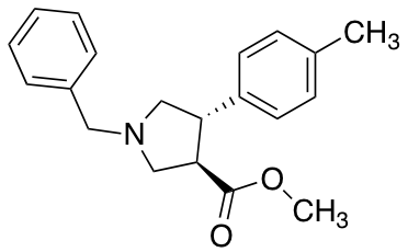 (3R,4S)-Methyl 1-benzyl-4-p-tolylpyrrolidine-3-carboxylate