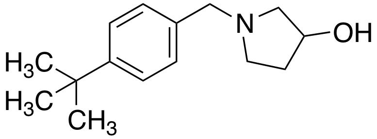 1-[(4-tert-butylphenyl)methyl]pyrrolidin-3-ol