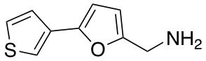 [5-(Thiophen-3-yl)furan-2-yl]methanamine