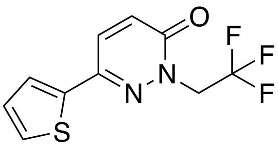 6-(thiophen-2-yl)-2-(2,2,2-trifluoroethyl)pyridazin-3(2h)-one