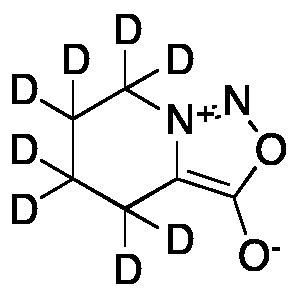 4,5,6,7-Tetrahydro-3-hydroxy-[1,2,3]oxadiazolo[3,4-a]pyridin-8-ium-d8 Inner Salt